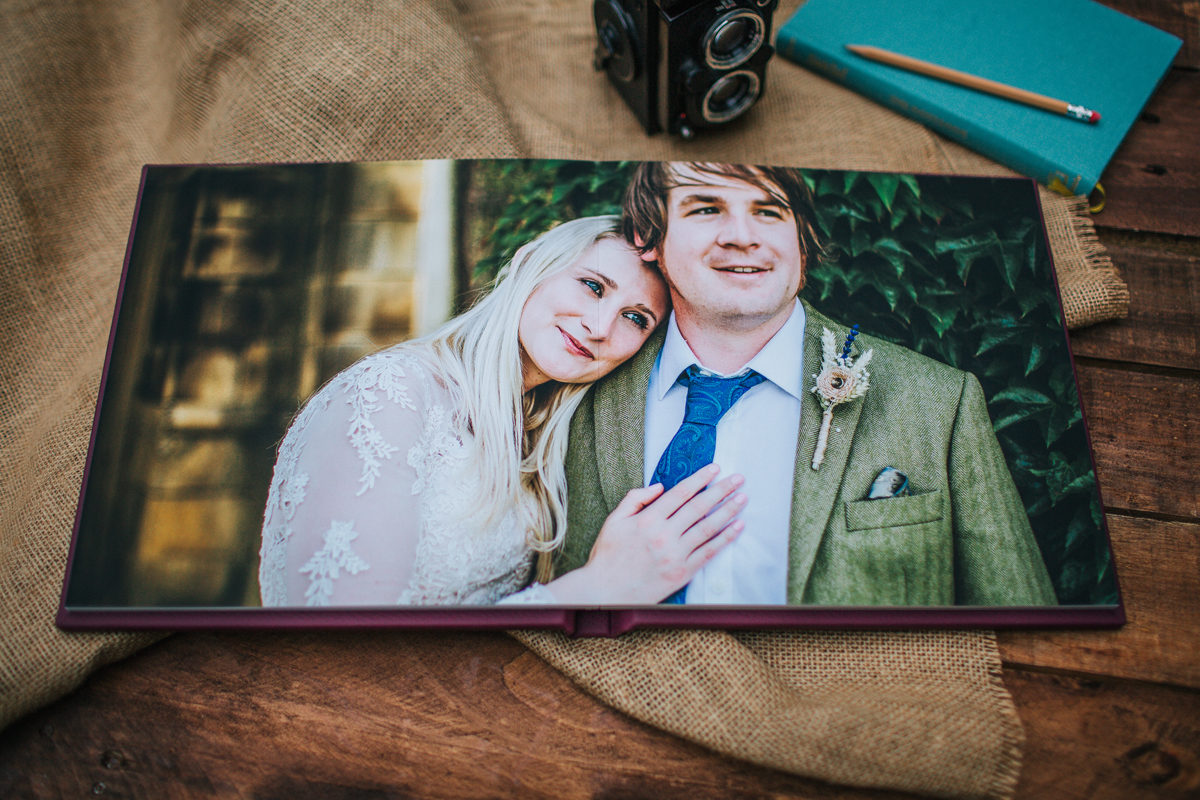 Emilie May Photography Wedding Albums