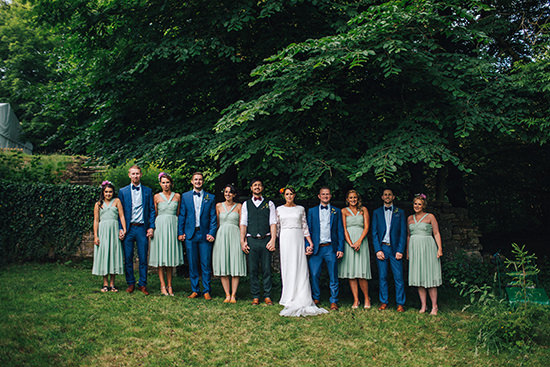Outdoor boho wedding Lancashire