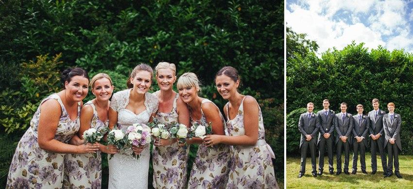 Bridesmaids and Ushers