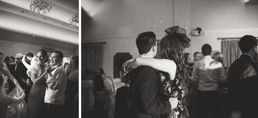 First dance at Red Hall Hotel