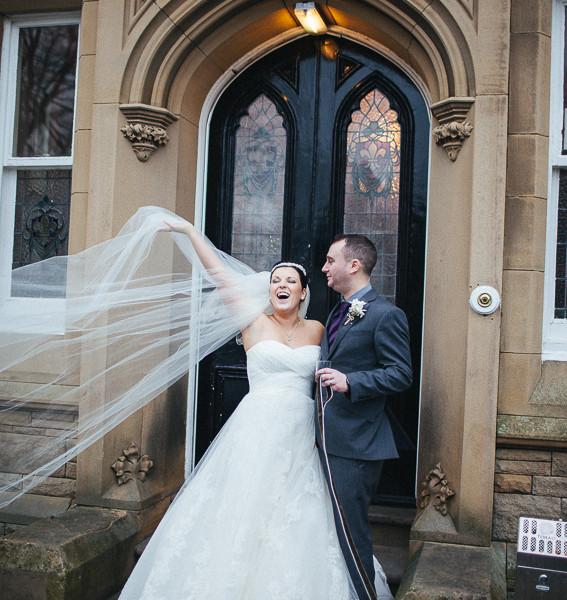 Laura & Gareth's wedding at Hollin Hall Hotel
