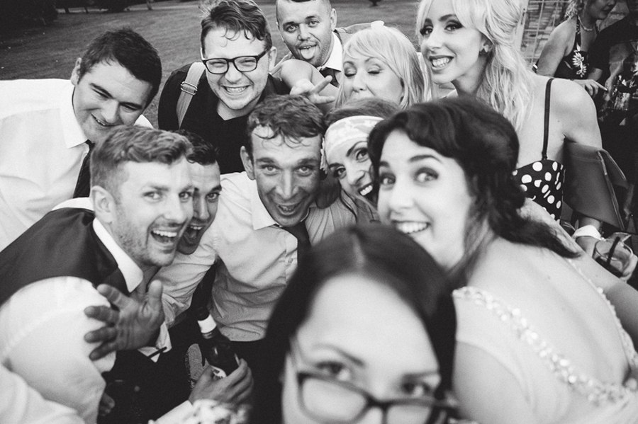 Wedding selfie