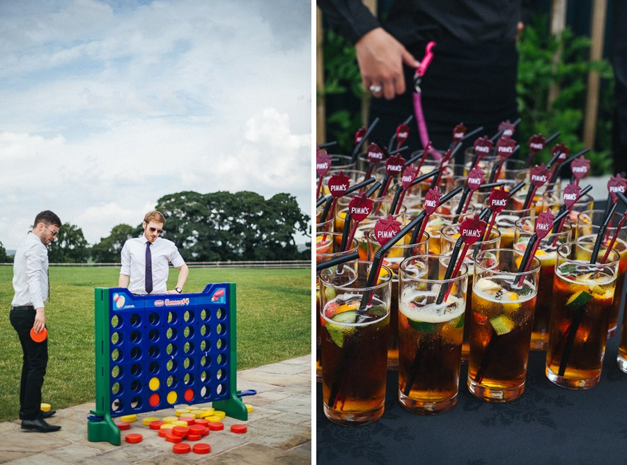 Wedding garden games