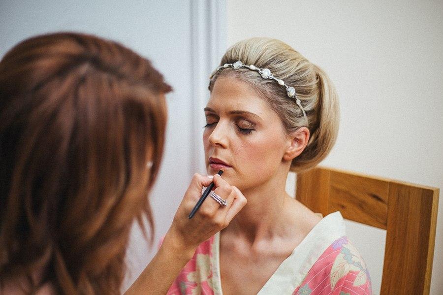 Staffordshire wedding makeup