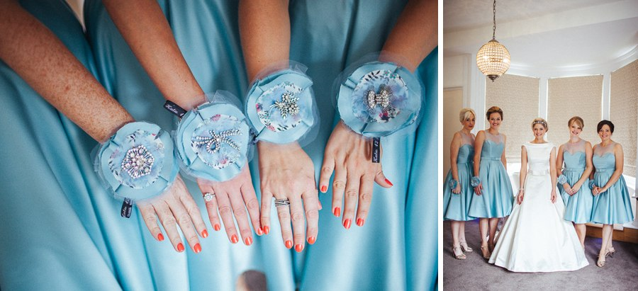 Emma Beaumont blue bridesmaid dresses