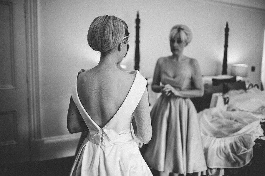 Alan Hannah wedding dress