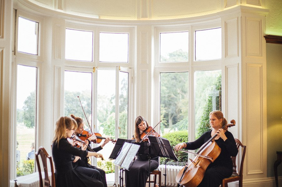 Wedding music string quartet