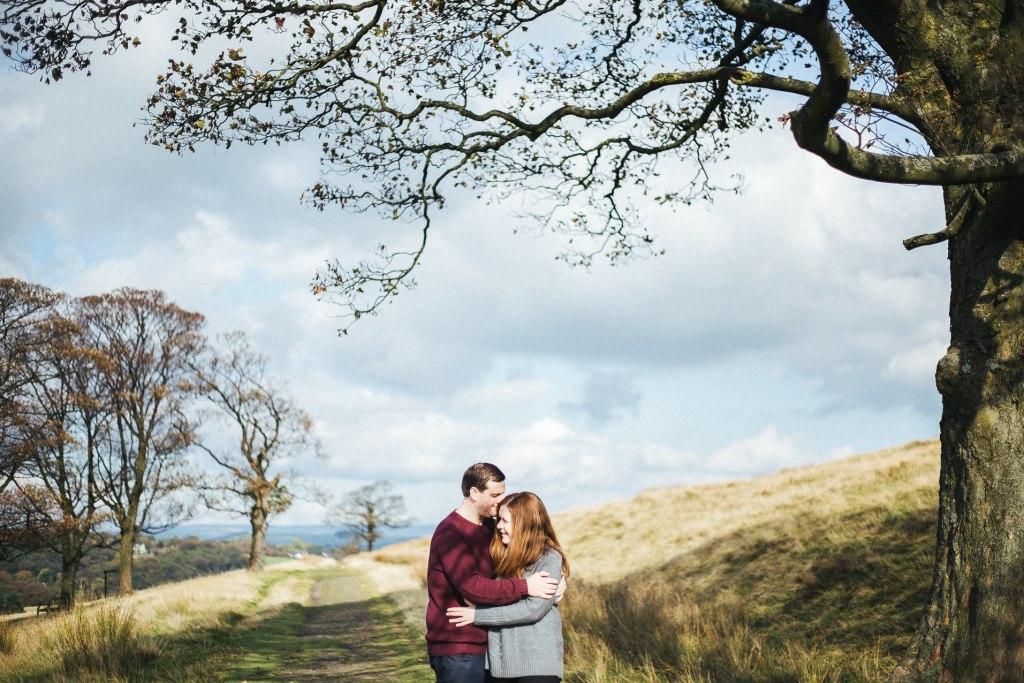 Lyme Park engagement shoot