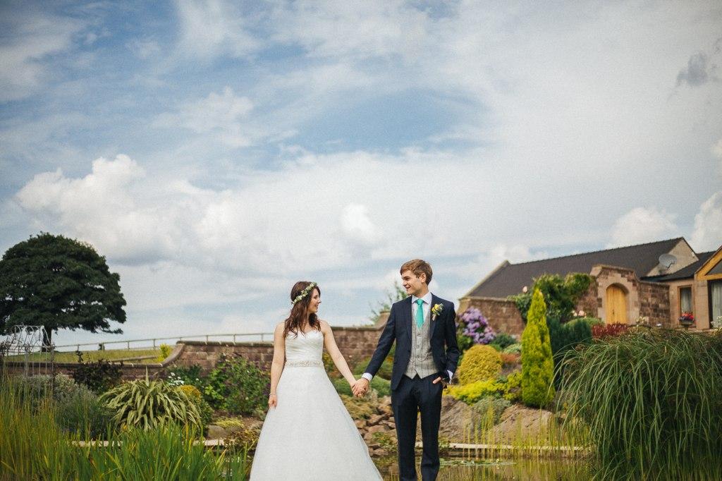Heaton House Farm wedding - Creative wedding photographer