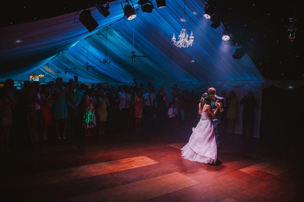 Beautiful first dance - Heaton House Farm