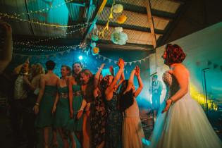 Barmbyfield Barns Wedding Yorkshire - Festival Wedding