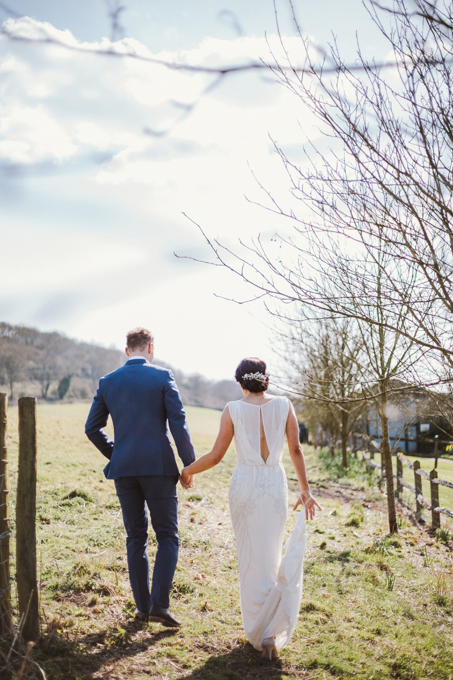 Chichester Wedding Photographer - Barn Wedding in West Sussex