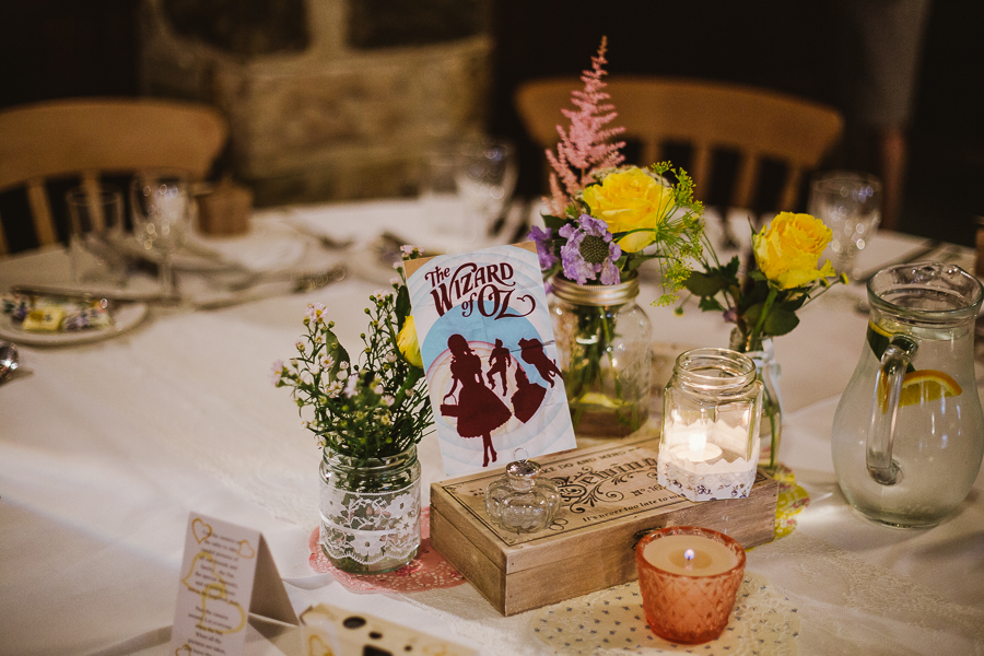 Rustic Barn Cubley Hall Wedding with a Jenny Packham Dress