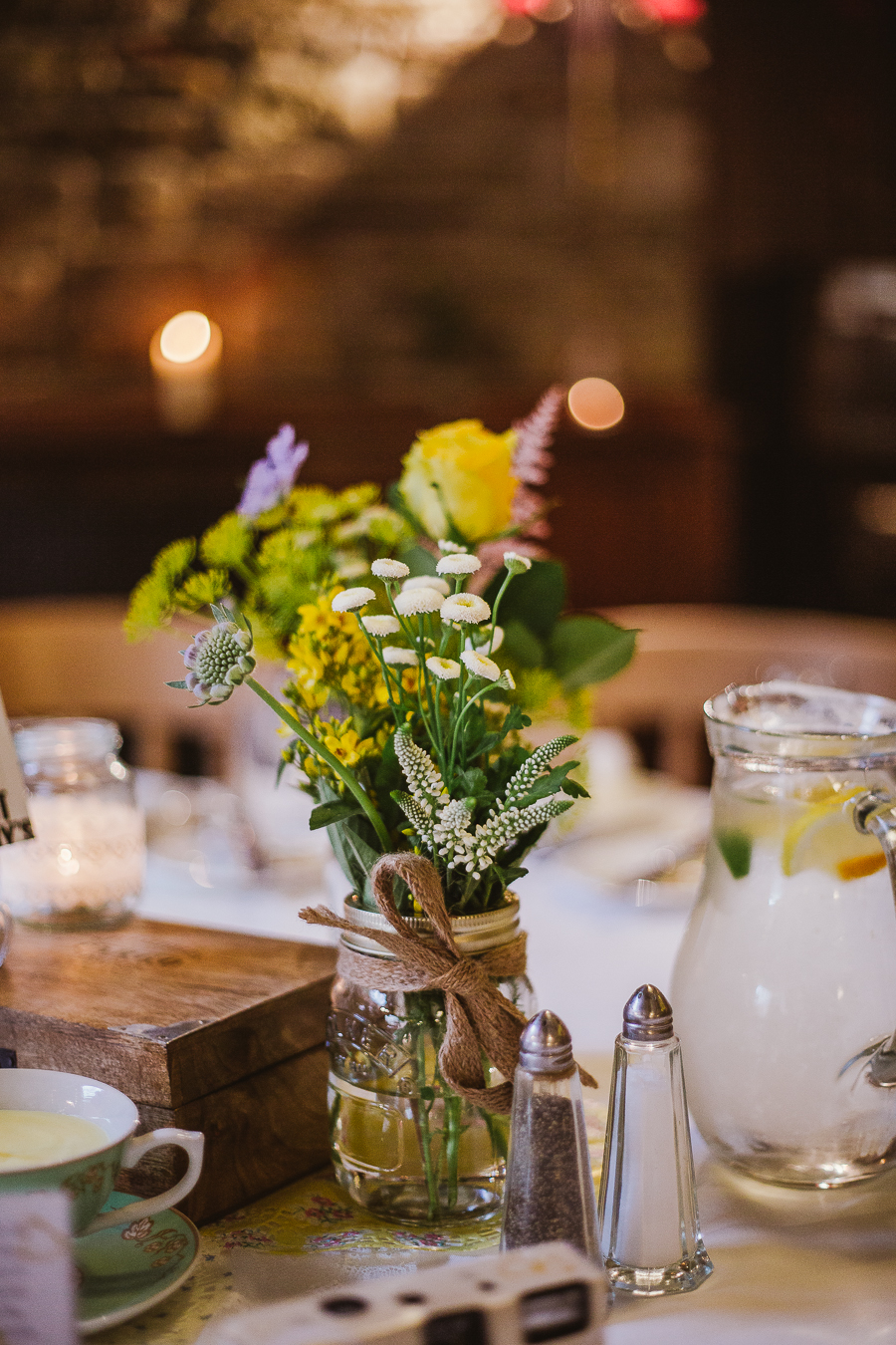 Rustic Barn Cubley Hall Wedding - Sheffield Wedding Photographer