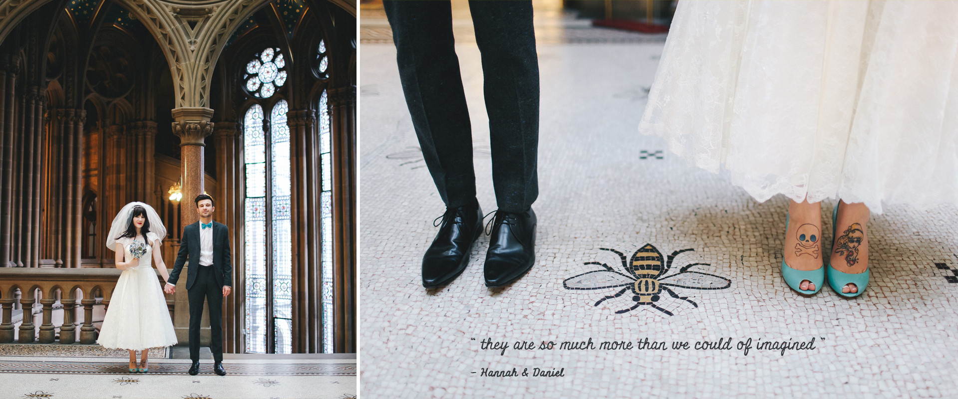 Relaxed Manchester wedding photography