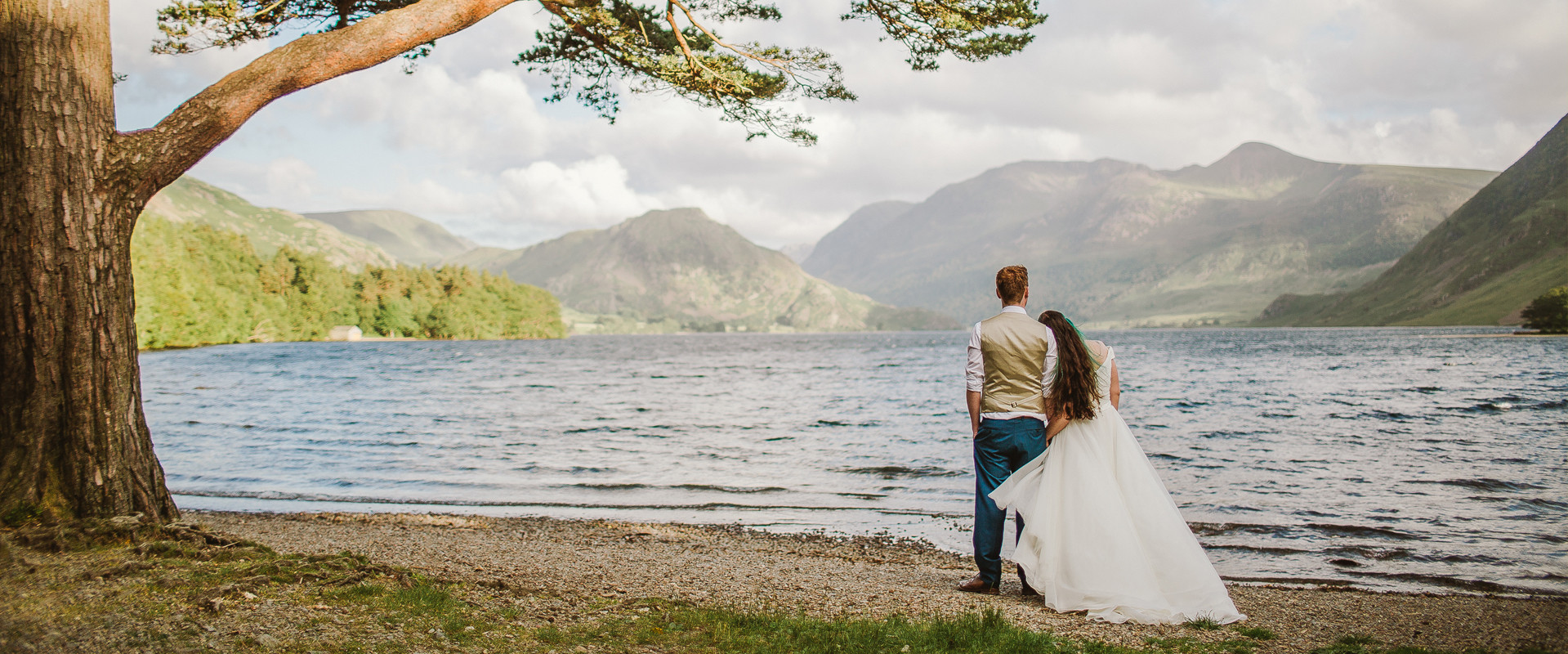 Lake District wedding photos.