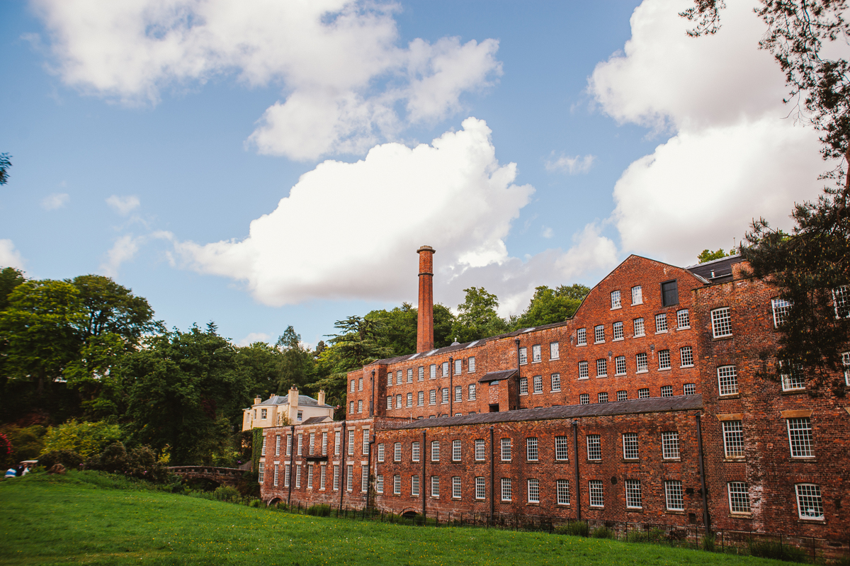 Quarry Bank Mill Wedding - Relaxed, natural Wedding Photography Cheshire