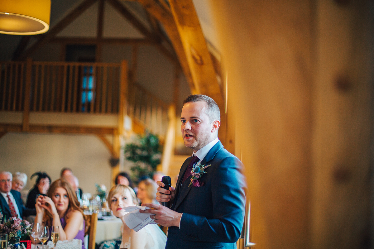 Barn wedding photographer Wales