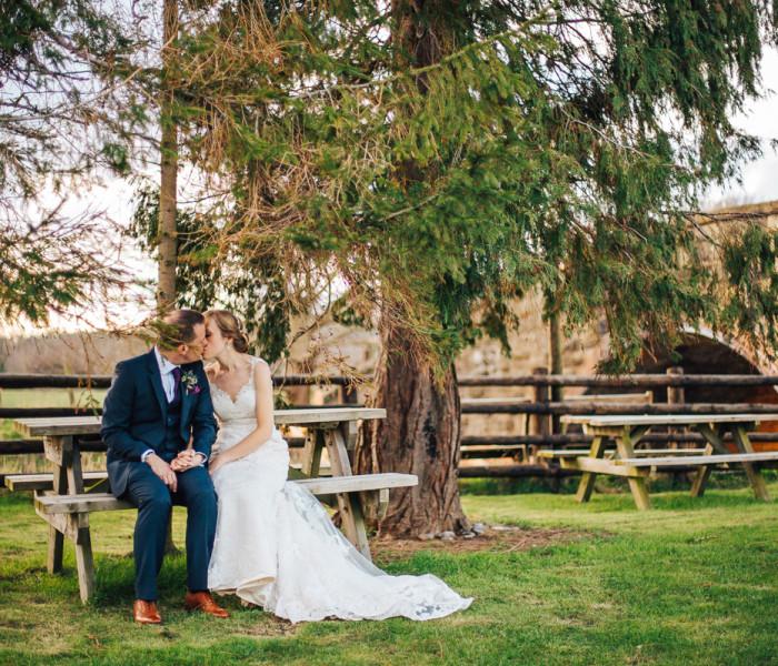 Tower Hill Barns Wedding - Wedding Photographer Llangollen