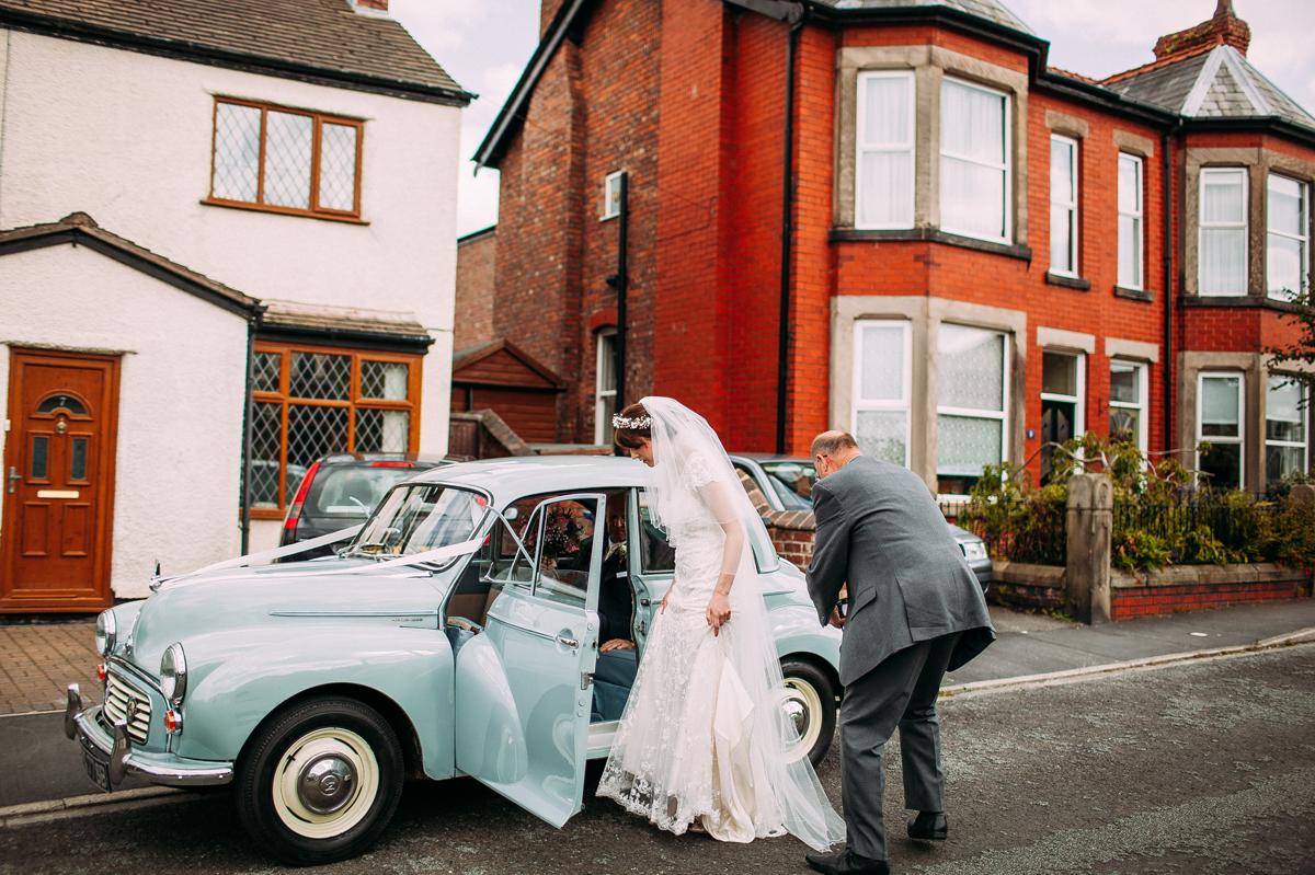 Marquee garden wedding Burscough - Lancashire wedding photographer