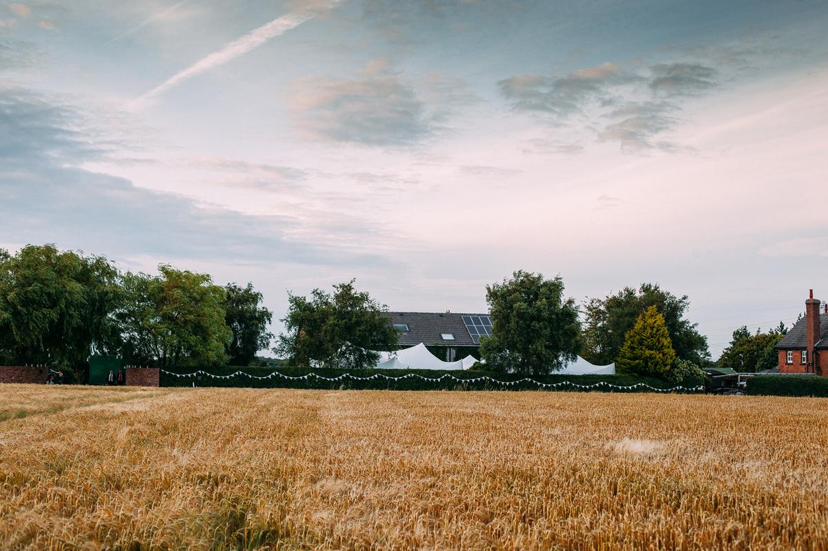 Marquee Garden Wedding - Lancashire Wedding Photographer