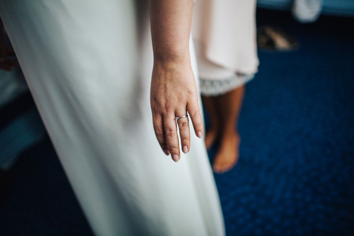 Bridal preparations, documentary wedding photographer.