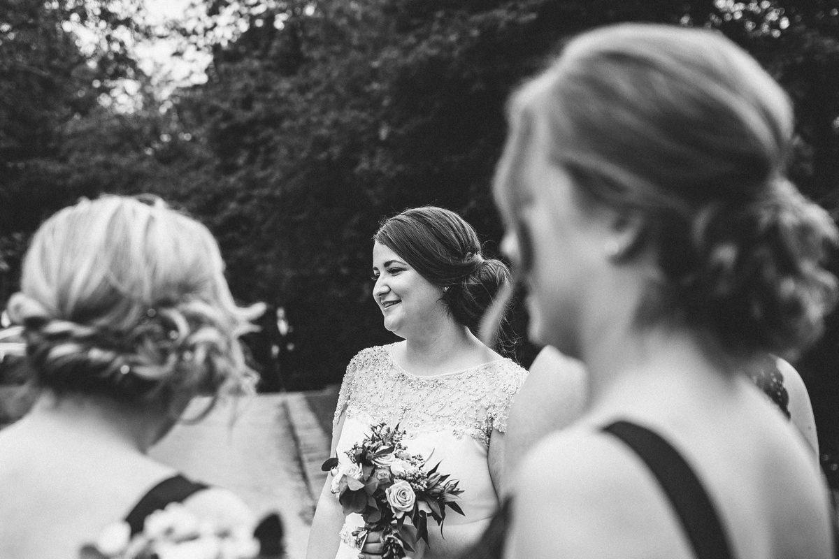 Documentary wedding photographer Yorkshire.