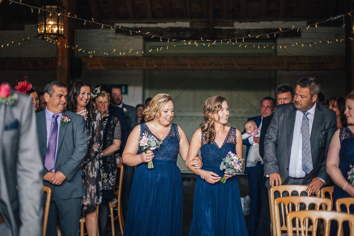East Riddlesden Hall wedding ceremony.