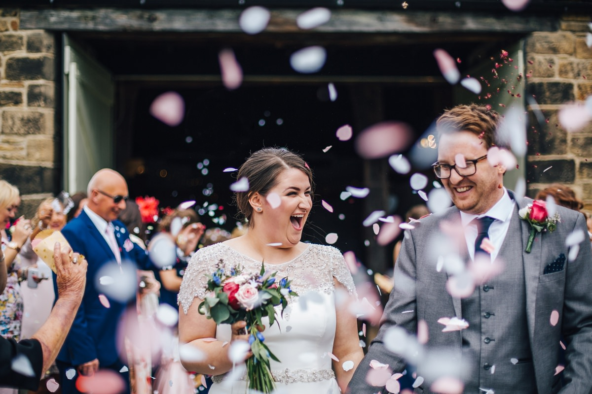 Relaxed documentary wedding photography Yorkshire.