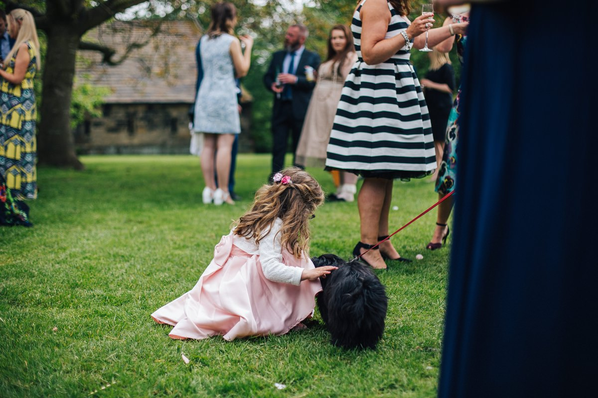 Natural wedding photography Yorkshire