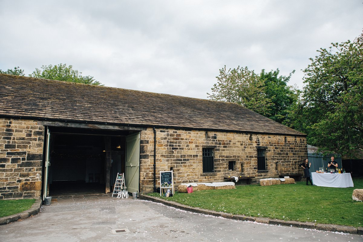 Wedding Barn Yorkshire. Relaxed wedding photography.