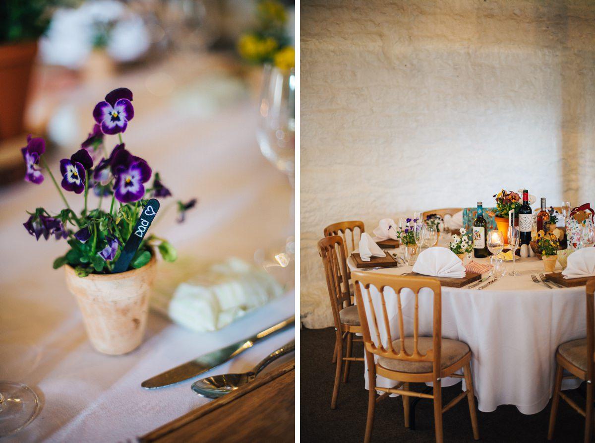 Wedding details, East Riddlesden Hall.