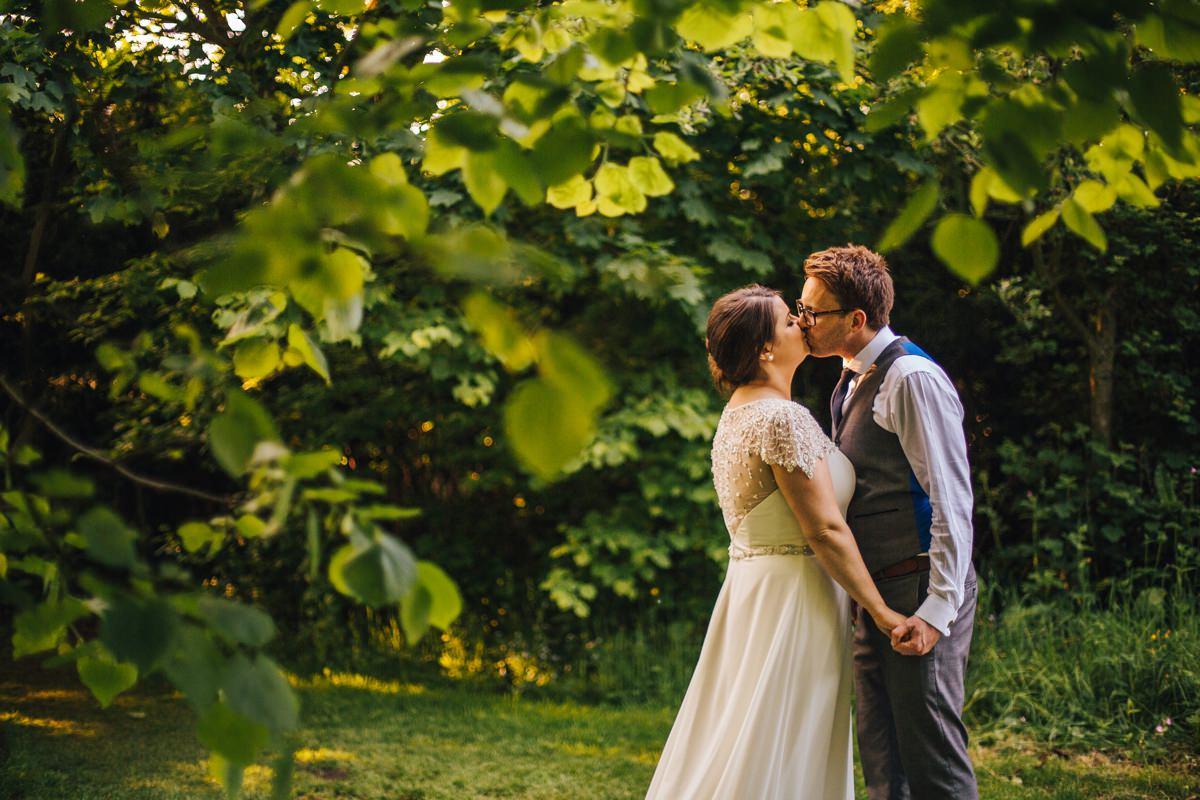 Natural wedding photography Yorkshire.