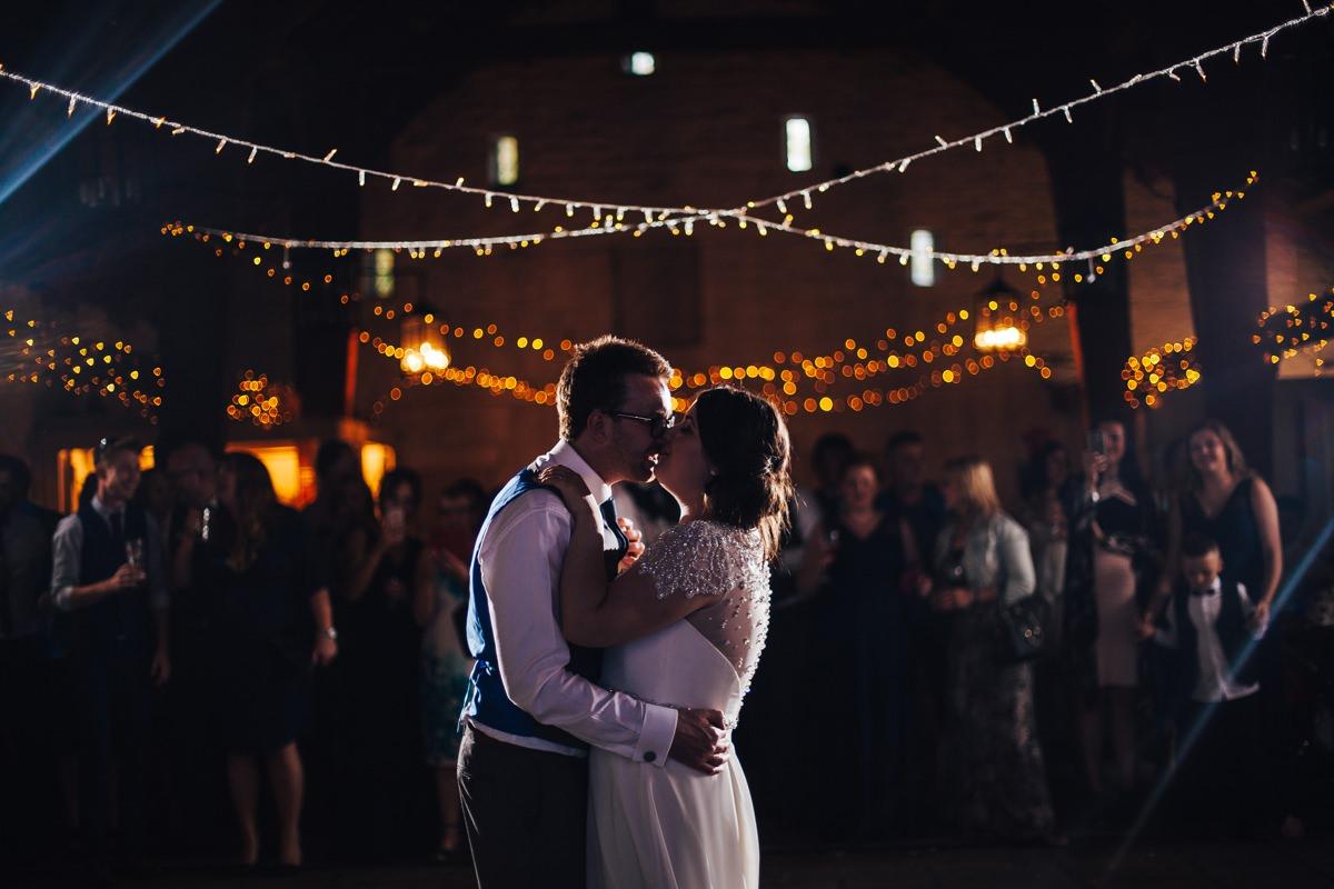 East Riddlesden Hall wedding Barn. First Dance.