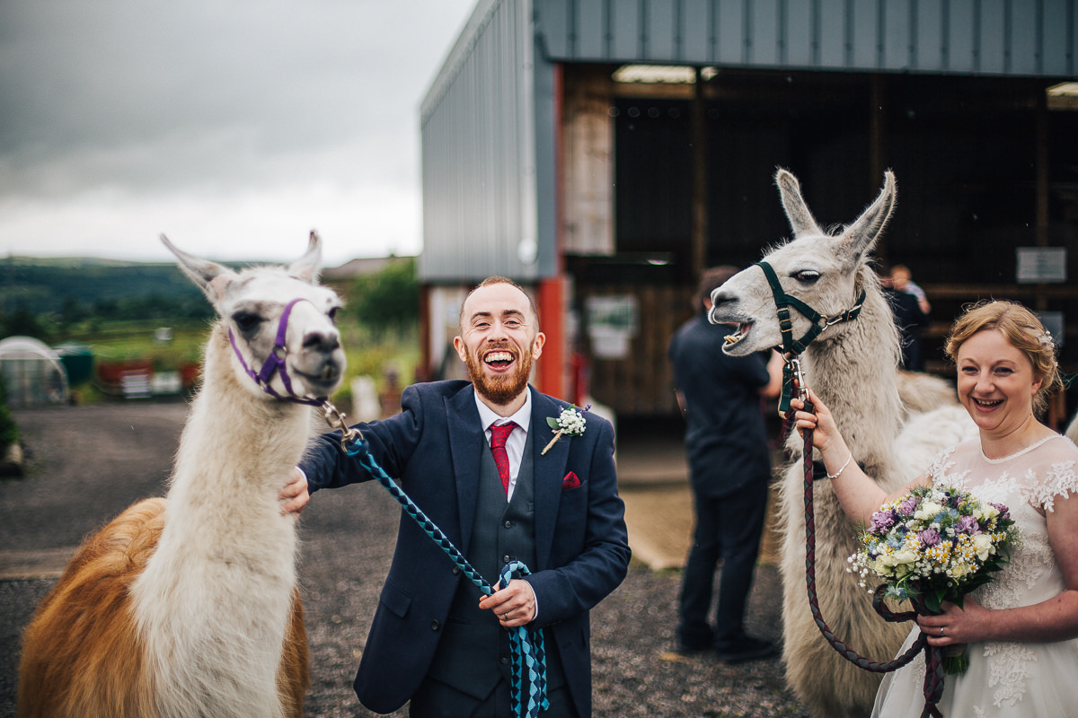 Fun barn wedding Lancashire
