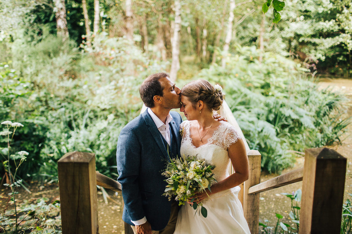 Natural wedding portraits