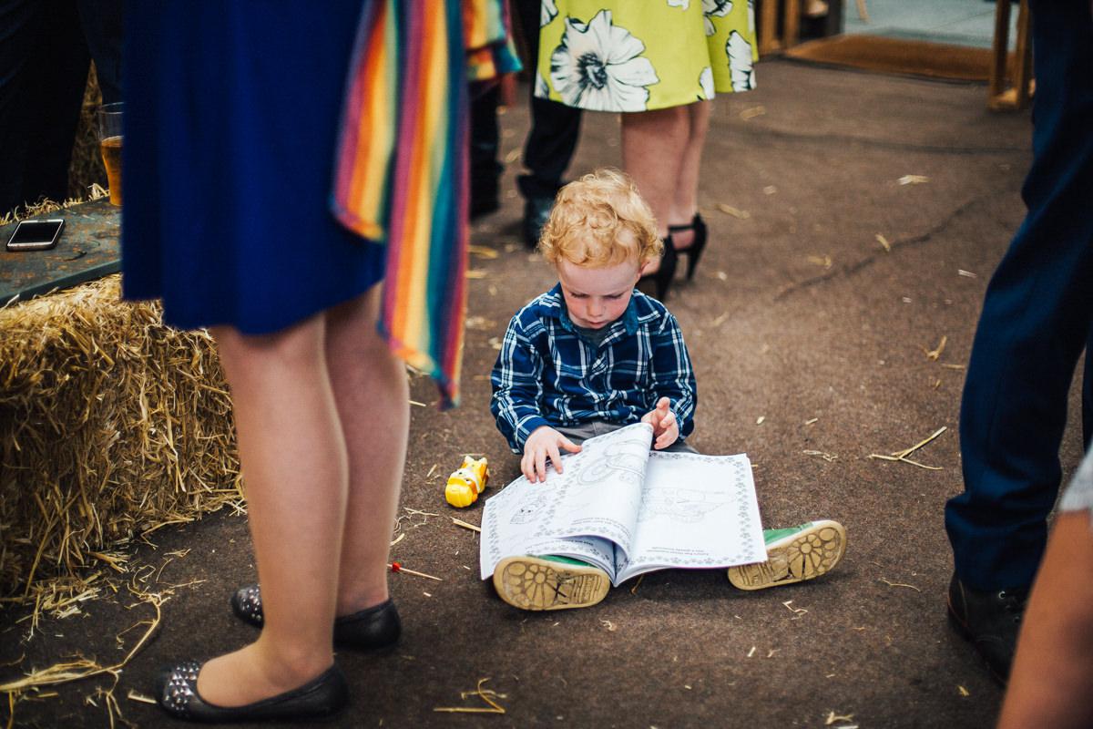 Children wedding entertainment