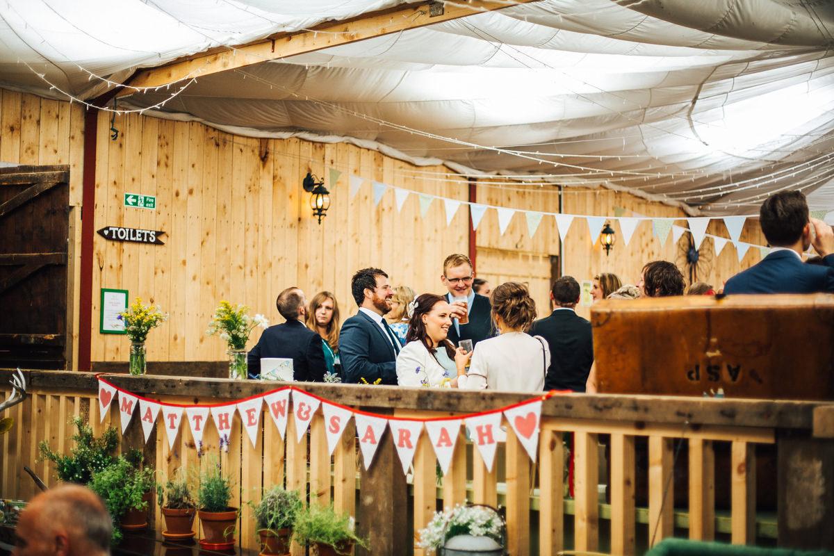 Barn wedding Lancashire
