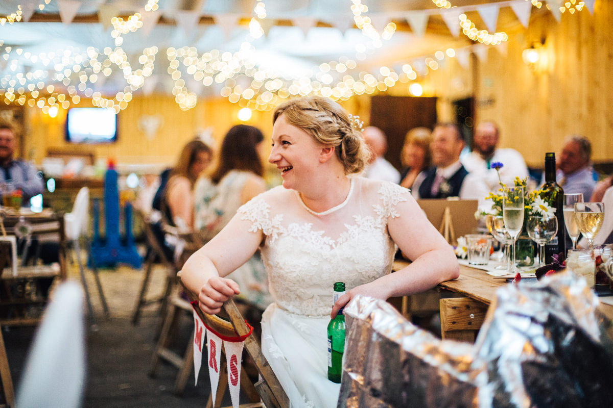 Quirky vintage bride