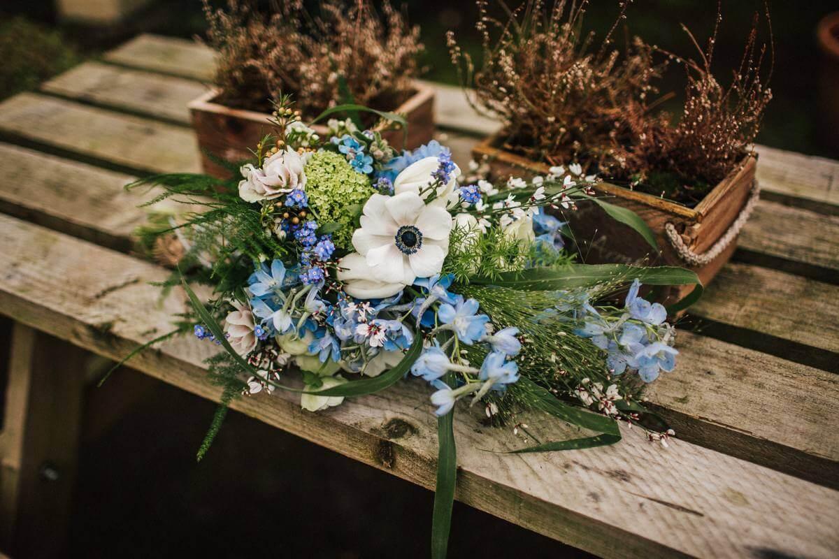 Spring Lancashire wedding flowers