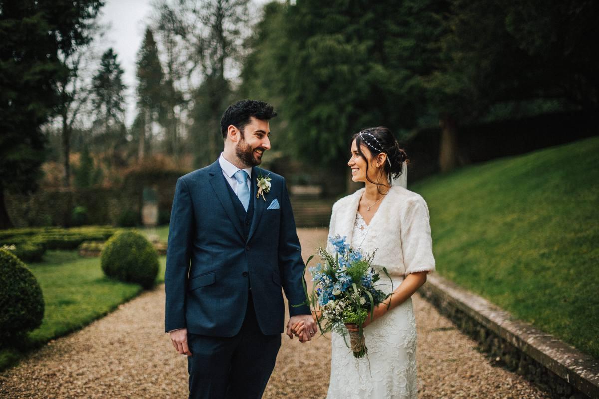 Rustic barn wedding Lancashire