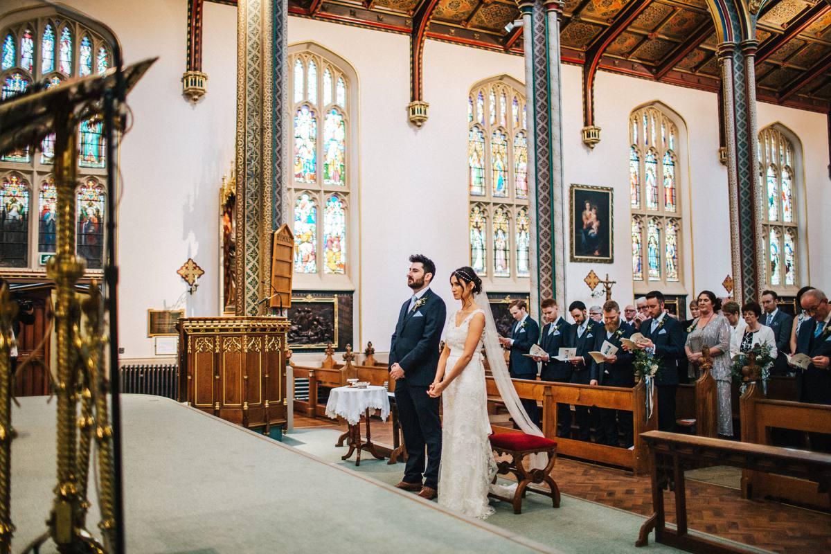 Lancashire church wedding