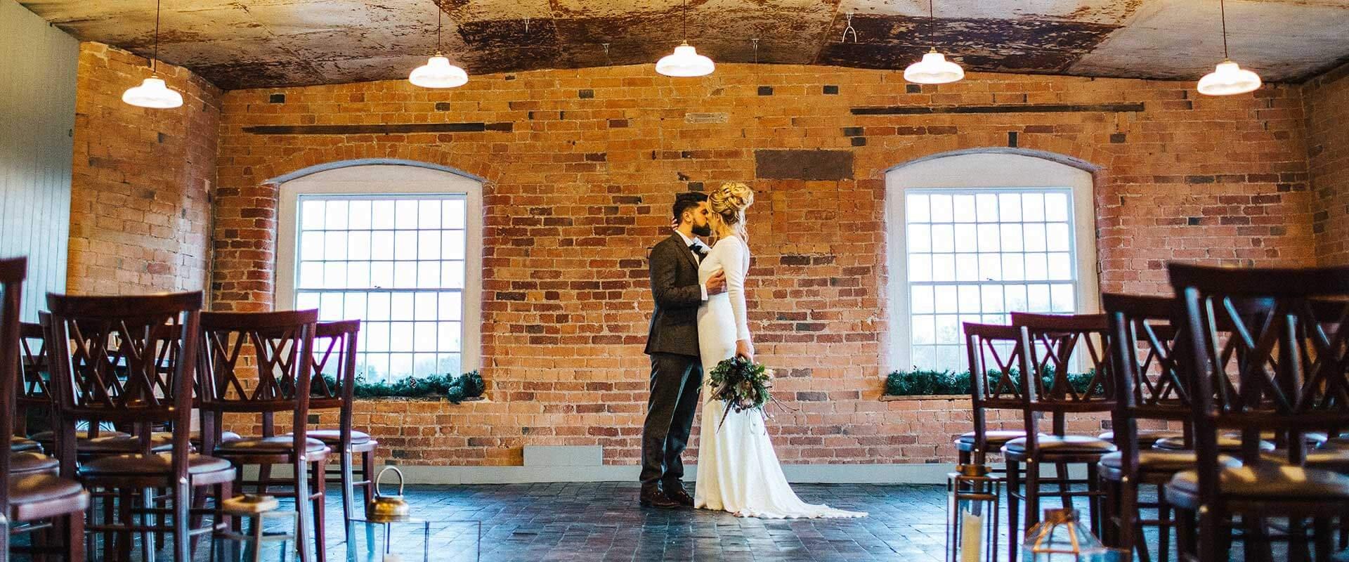 Mill wedding Derbyshire