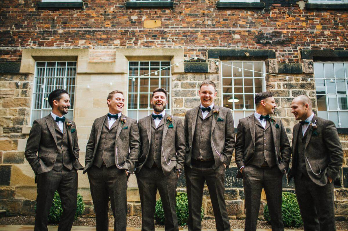 The Ushers at The West Mill Derbyshire