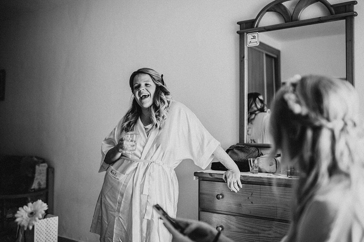 Documentary wedding photographer Ibiza