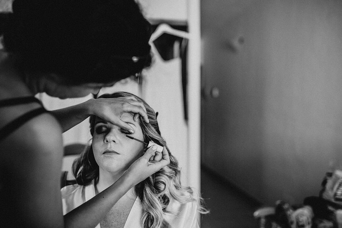 Wedding makeup Ibiza