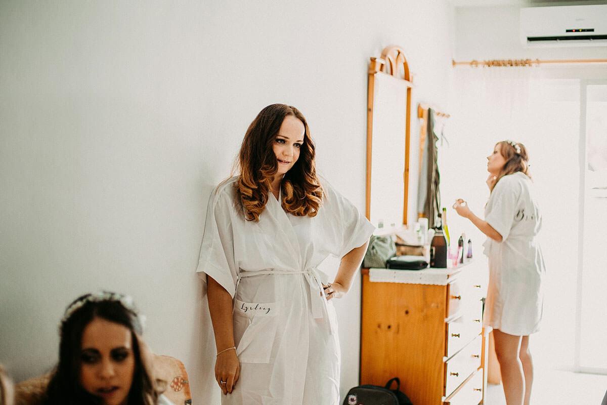 Bridal preparations Ibiza