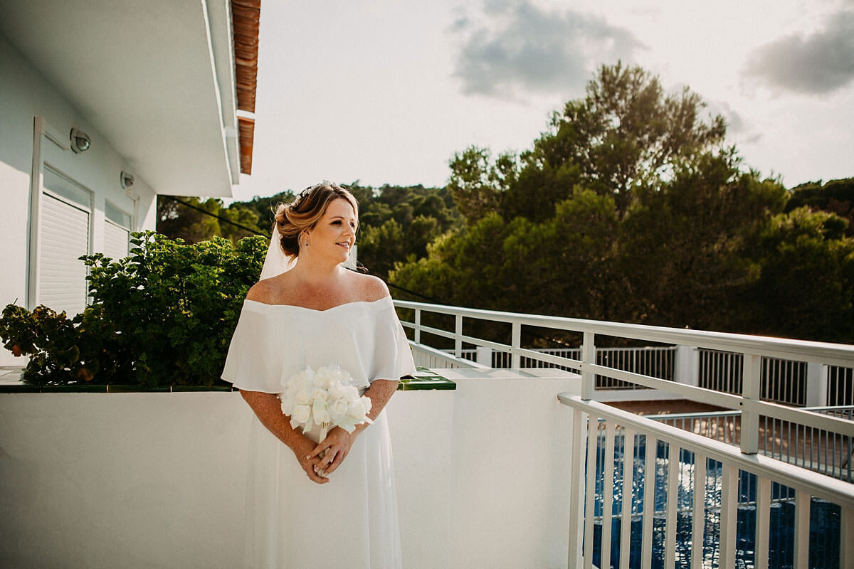 Destination bride Ibiza