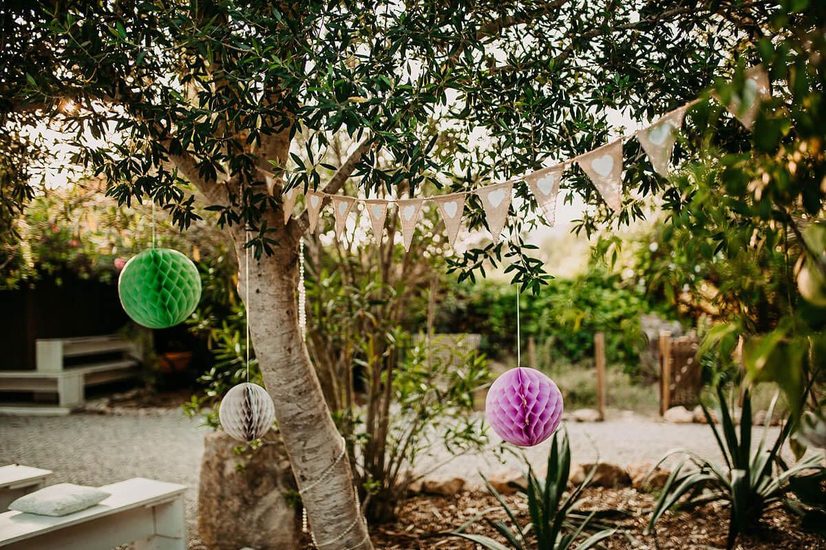Hidden Bar Ibiza - Outdoor ceremony
