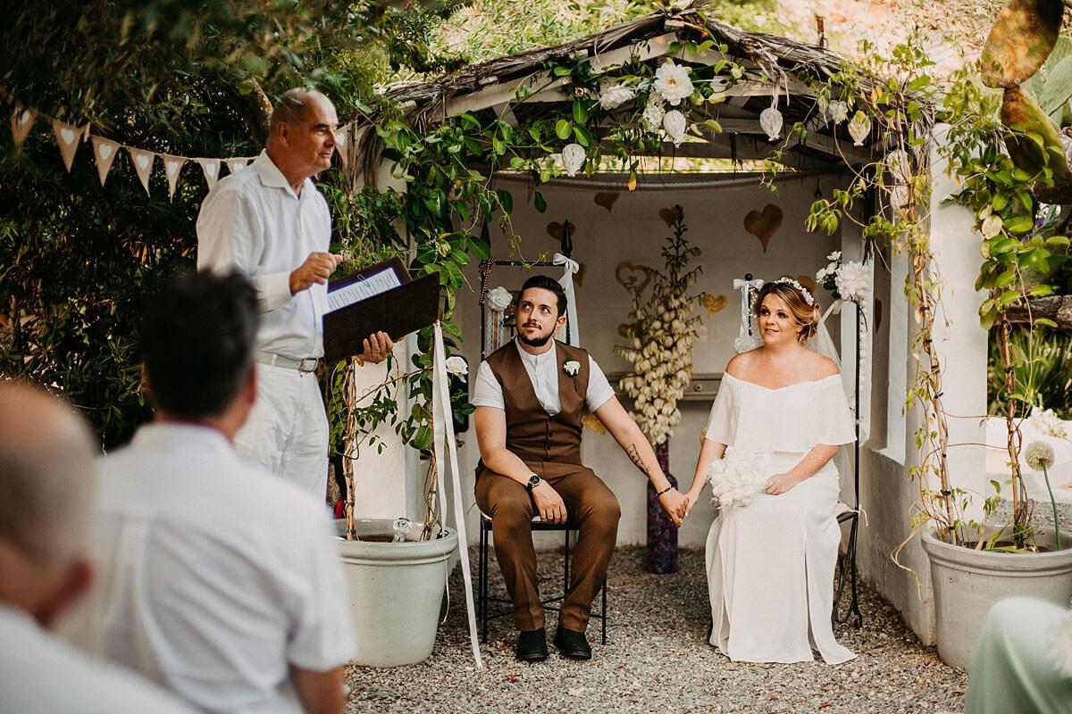 Outdoor wedding Ibiza